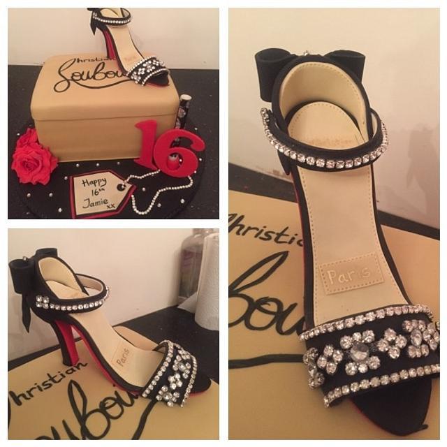 Louboutin shoe cake