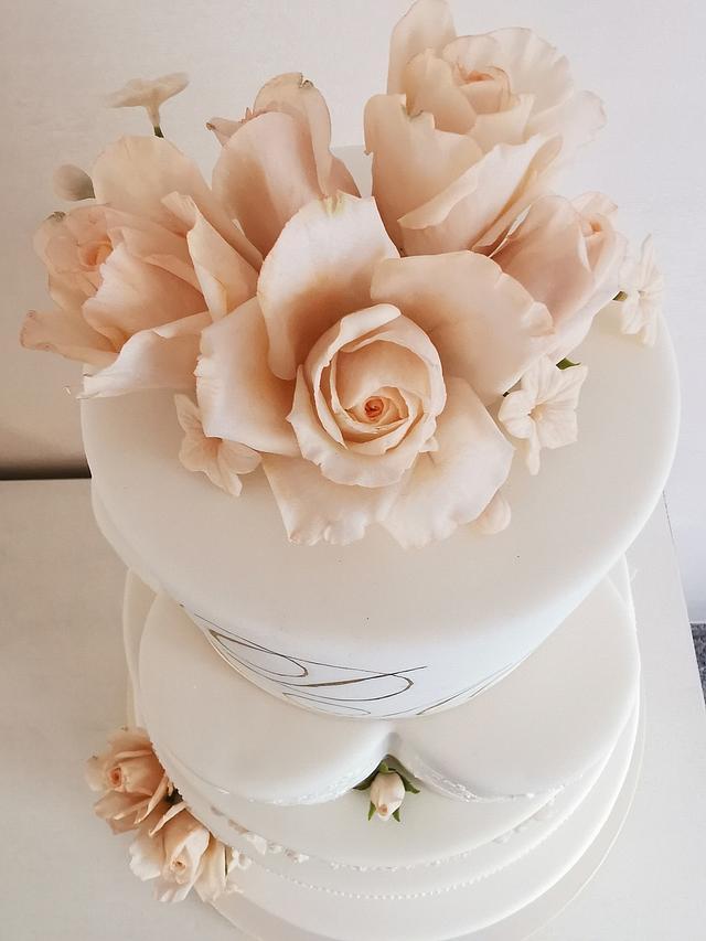 Cake Wedding Flowers