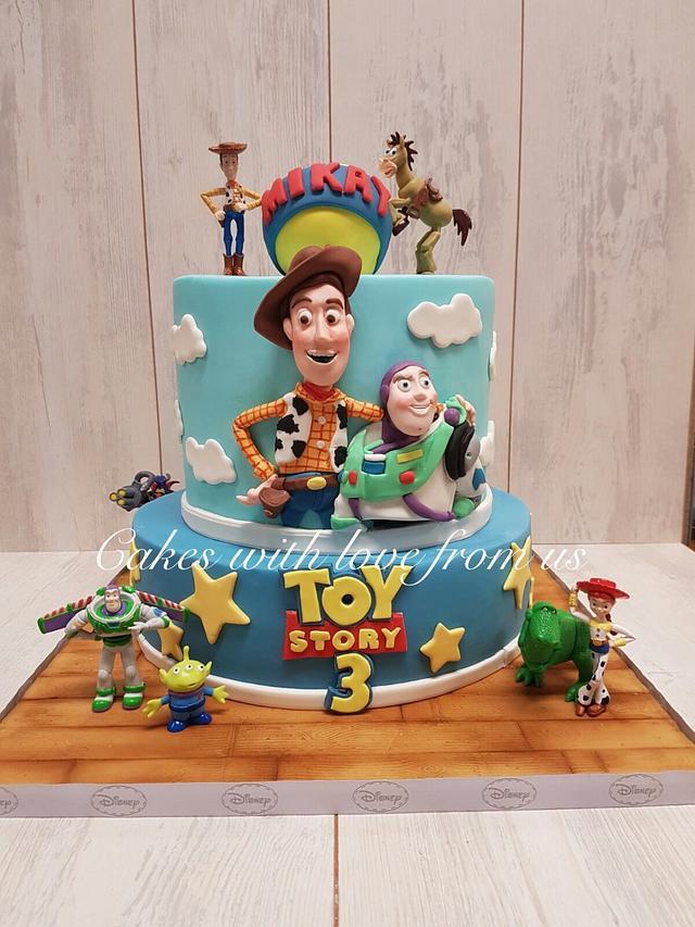 Toy story birthay cake