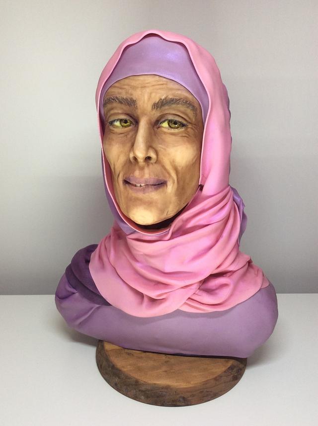 Desert woman.collab spectacular pakistan.