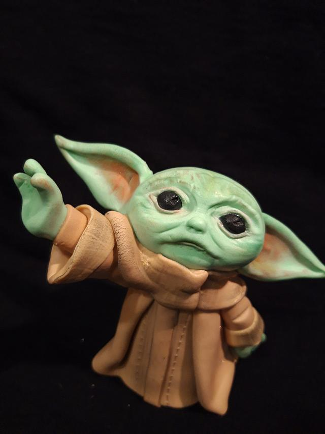 Baby Yoda Cake Toppers