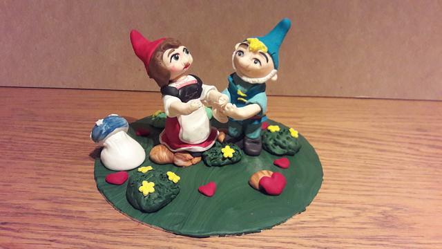My Gnomeo and Julliet topper