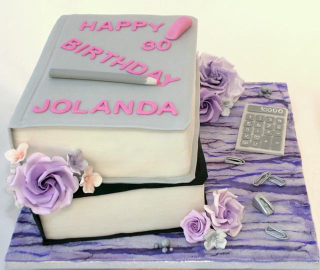 Accountant Birthday Cake