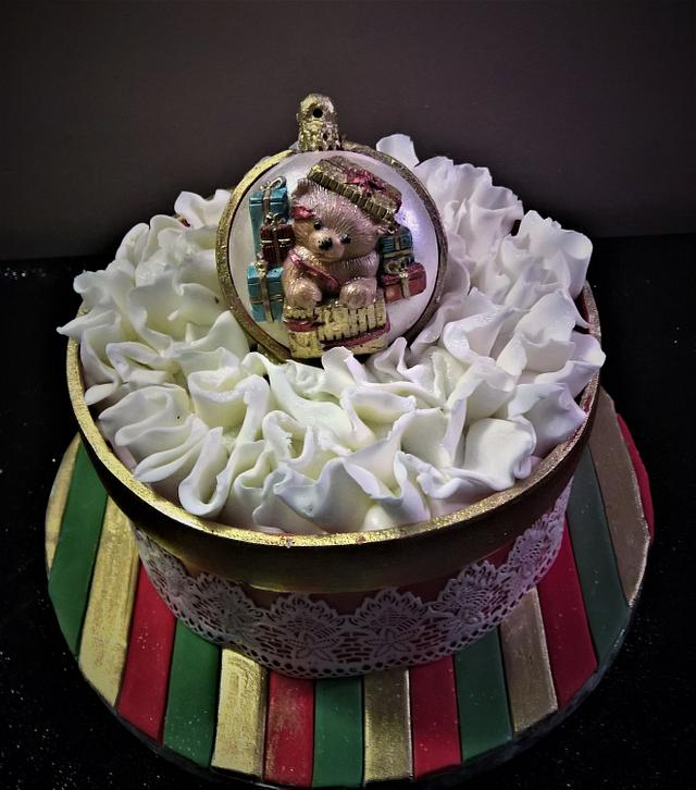 The Christmas Bauble Cake