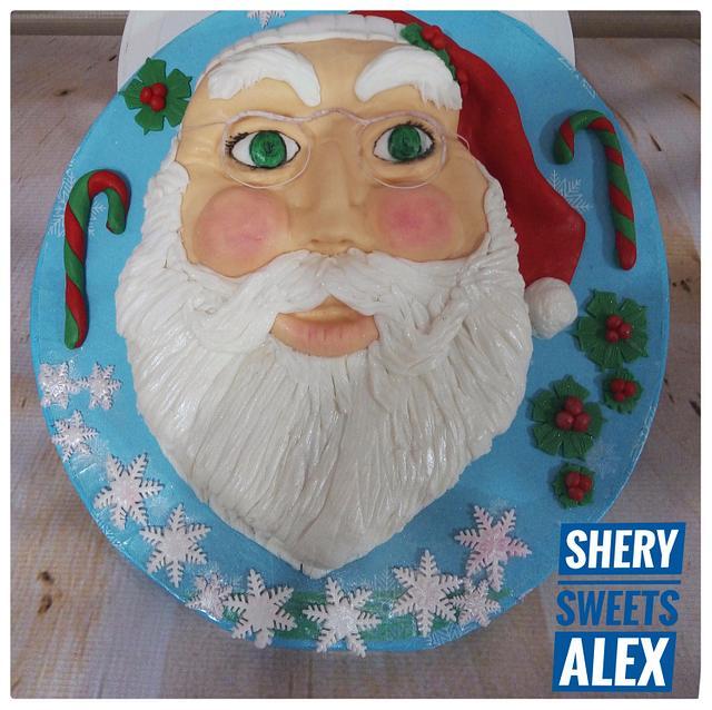 Santa-claus cake