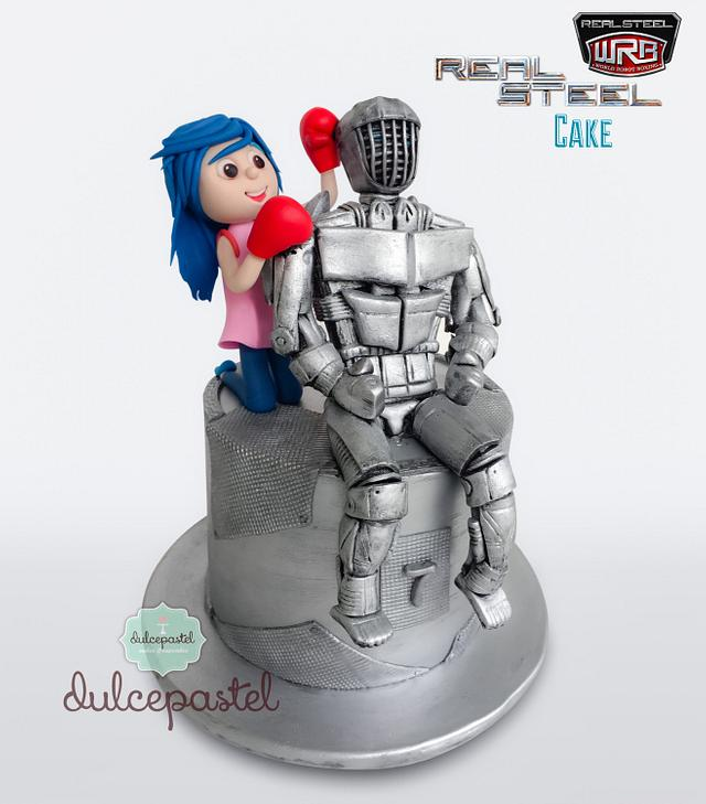 Torta Robot en Medellín (Reel Steal movie)