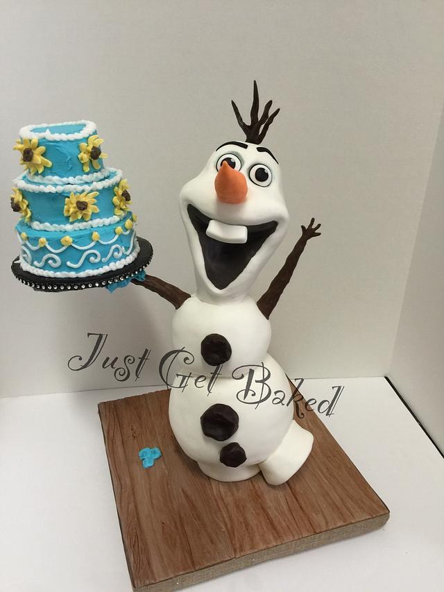 Olaf birthday fun!