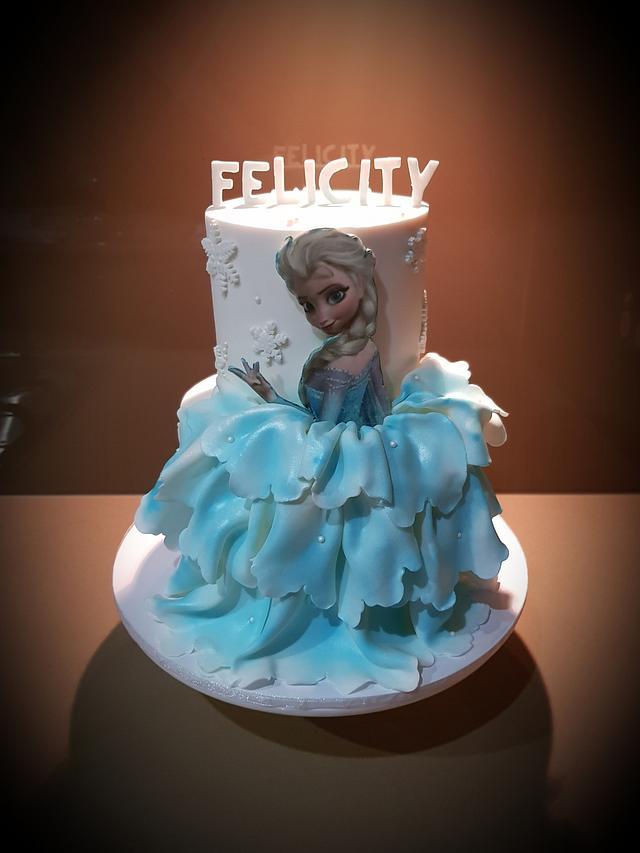 Elsa Frozen Cakes