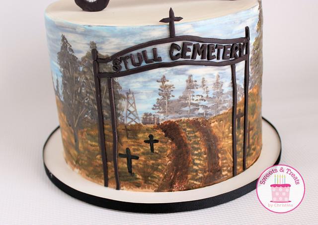 Supernatural Cake Collaboration Season 5