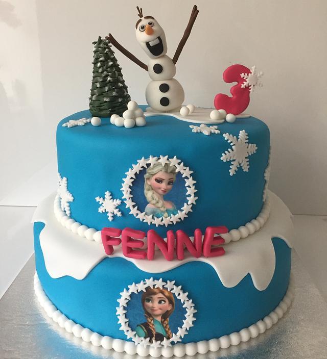 Frozen cake Fenne