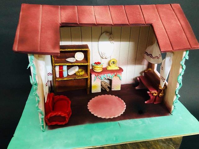 Fantasy World - Cakerbuddies Miniature Doll House Cake Collaboration- Home Sweet Home