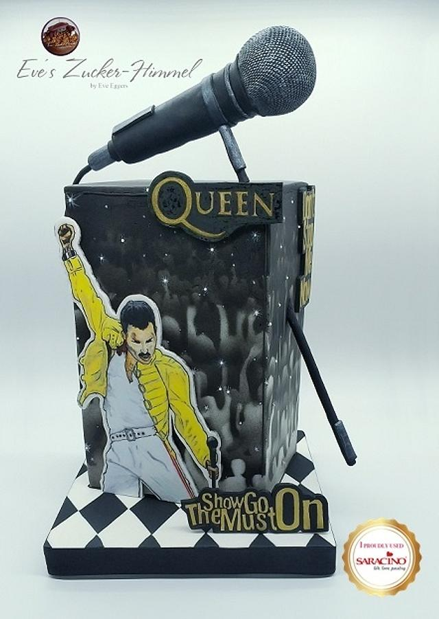 Freddie Mercury - Gone but not Forgotten- A Cake Collective Collaboration