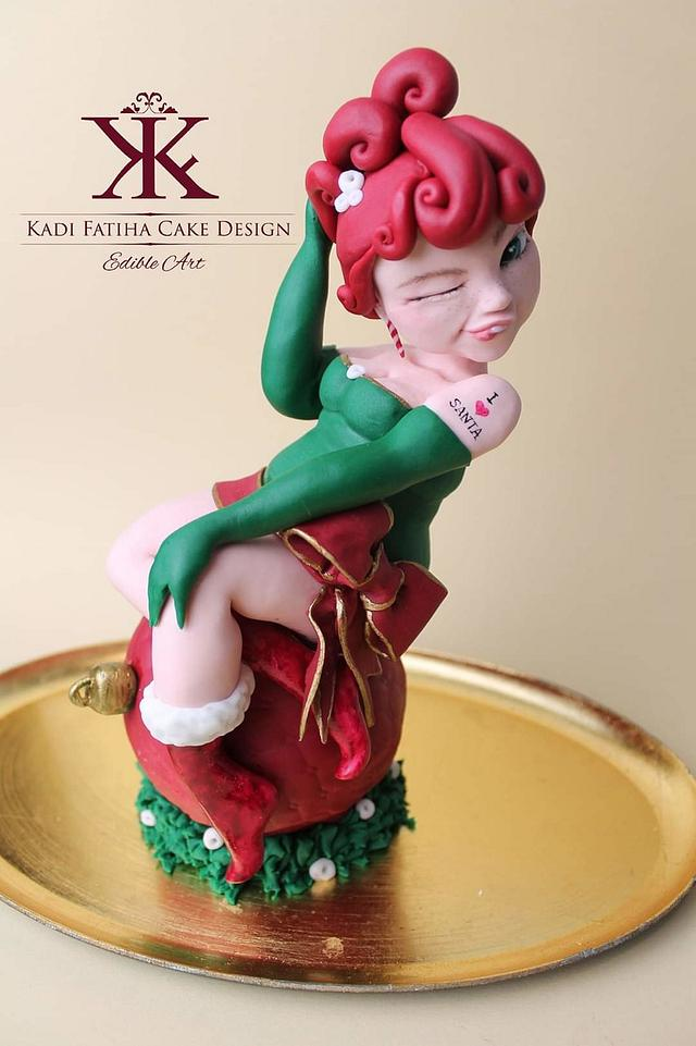 Naughty Mrs Santa!