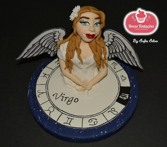 Zodiac Cake Challenge - Virgo