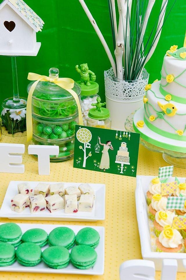 sweet table sweet sixteen