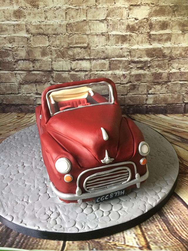 Morris minor cake