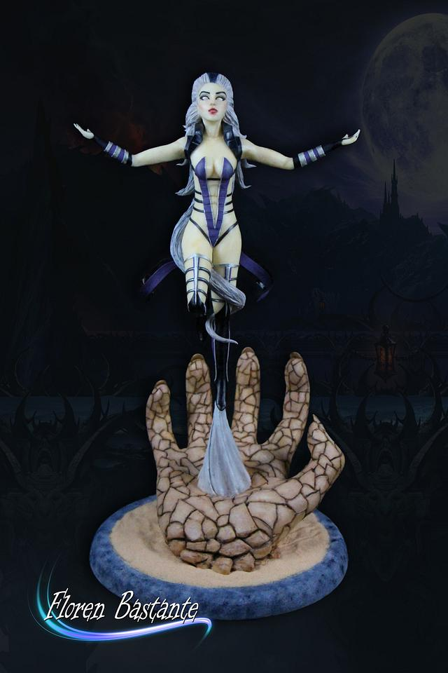 Queen Sindel Mortal Kombat 3 - Cake Con International