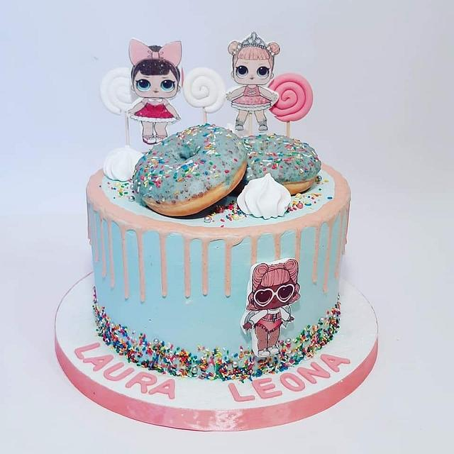 Two L cake