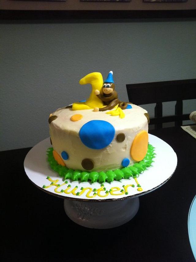 My first Smash Cake!