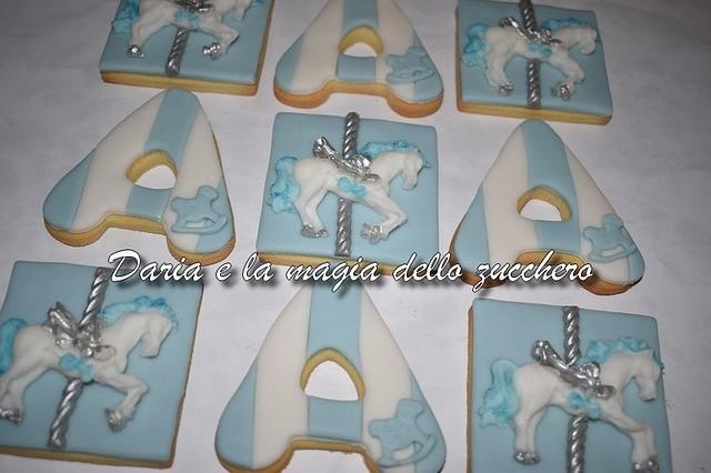 Carousel cookies