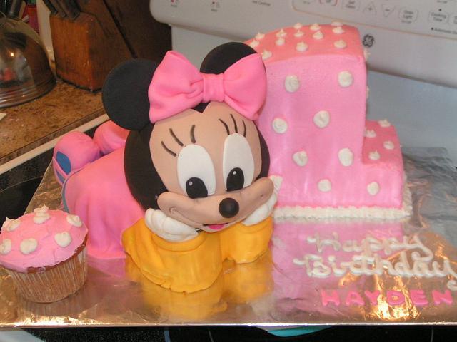 Baby Minnie 1st birthday