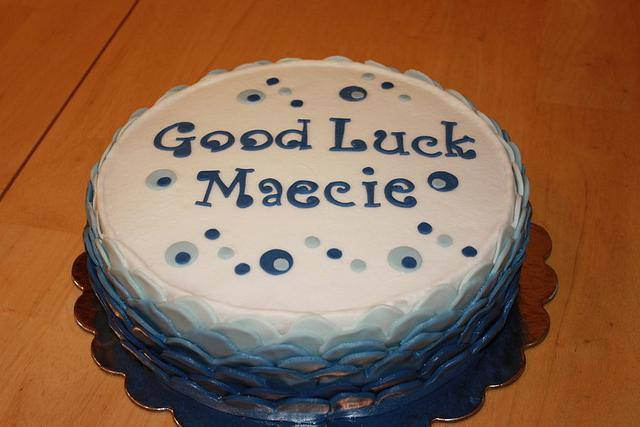 Good Luck Maecie Cake