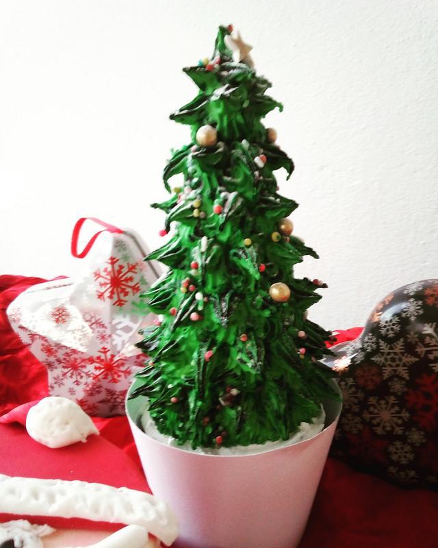 Christmas tree cookis
