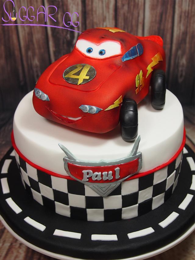 Paul Cars Cake