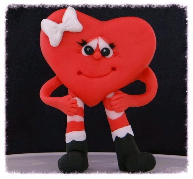 Modeling Chocolate Heart Figure