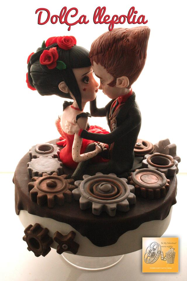 Jack And The Cuckoo Clock Heart, be my Valentine Collaboration