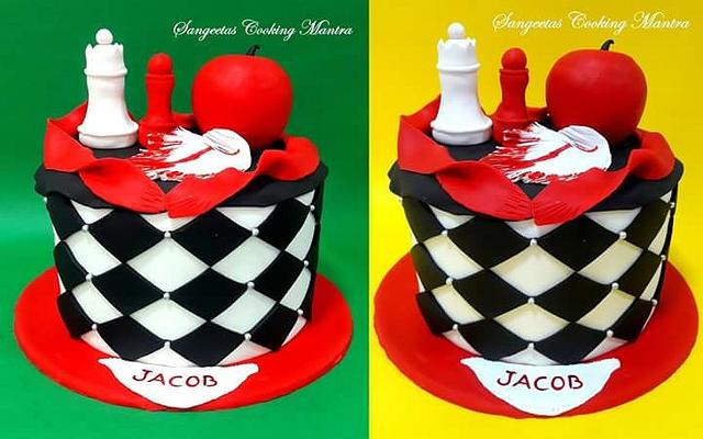 Twilight Theme cake