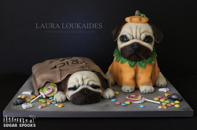 Odie & Luna go Trick or Treating