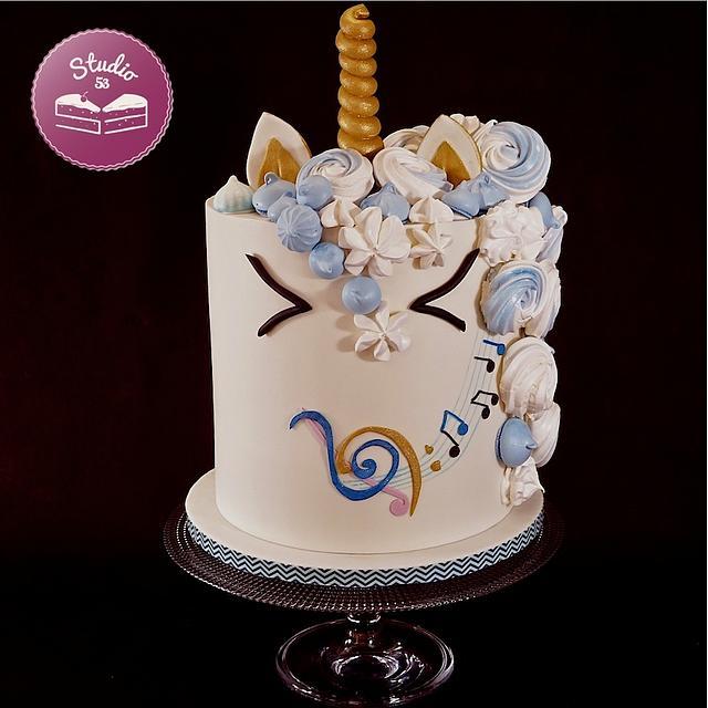 Unicorn & Music cake