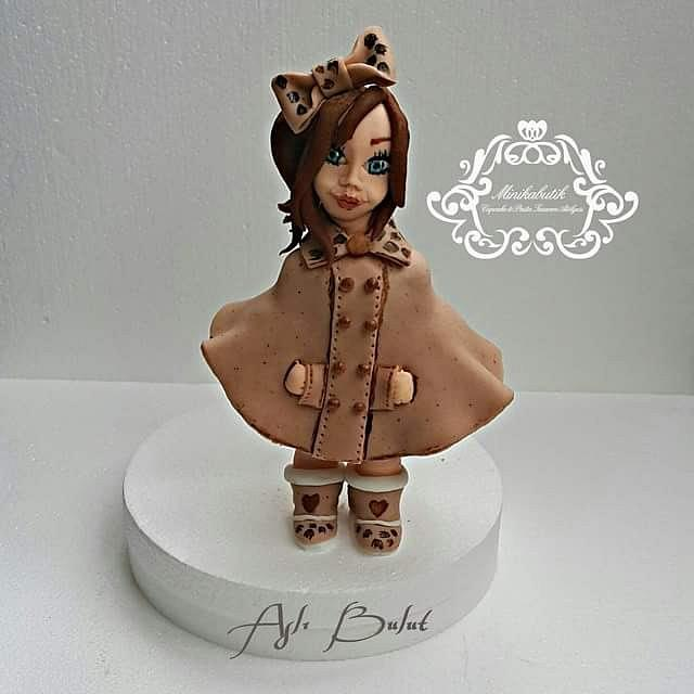 little fondant girl