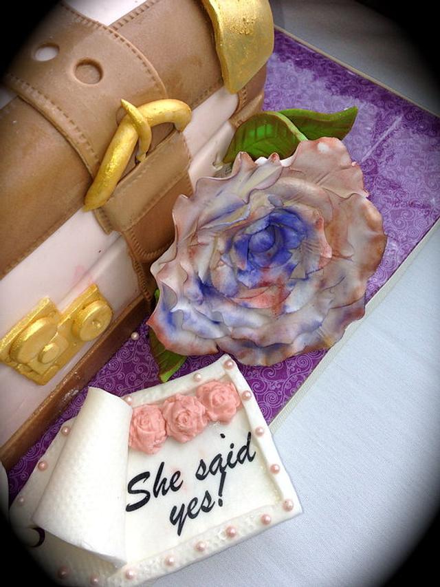 She said Yes....