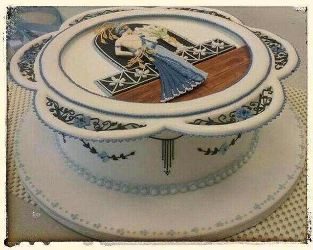 20's royal iced cake