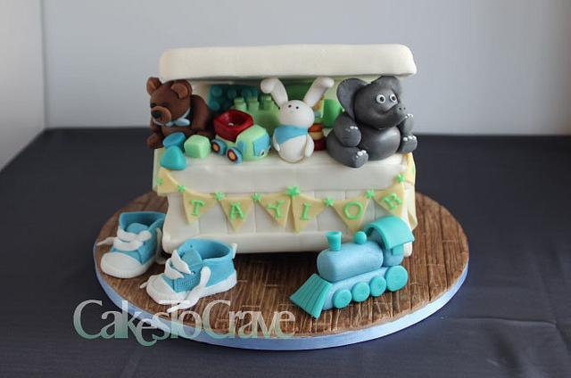Toy Box Birthday Cake