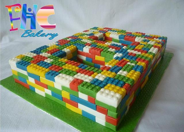 LEGO 8th Birthday Cake