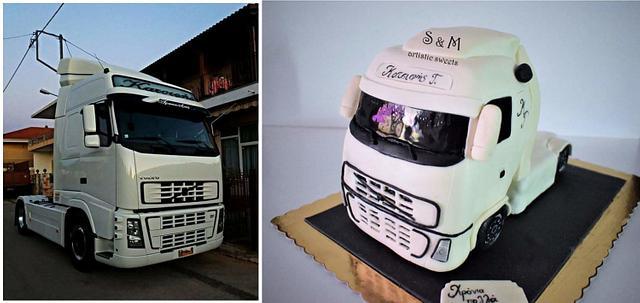 Volvo truck!