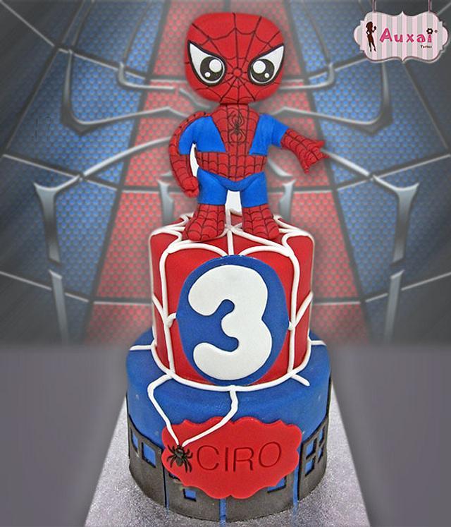 Spiderman Funko Pop cake