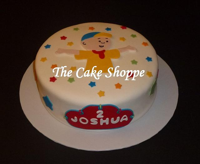 Swell Caillou Birthday Cake Cake By The Cake Shoppe Cakesdecor Funny Birthday Cards Online Alyptdamsfinfo