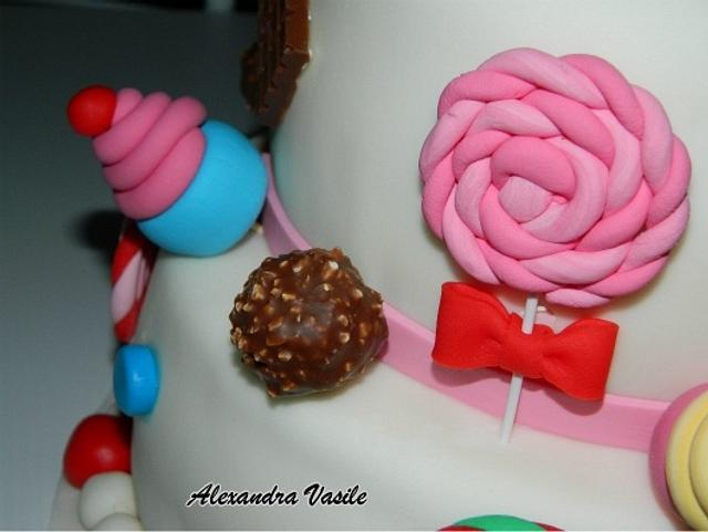 Sweets Cake