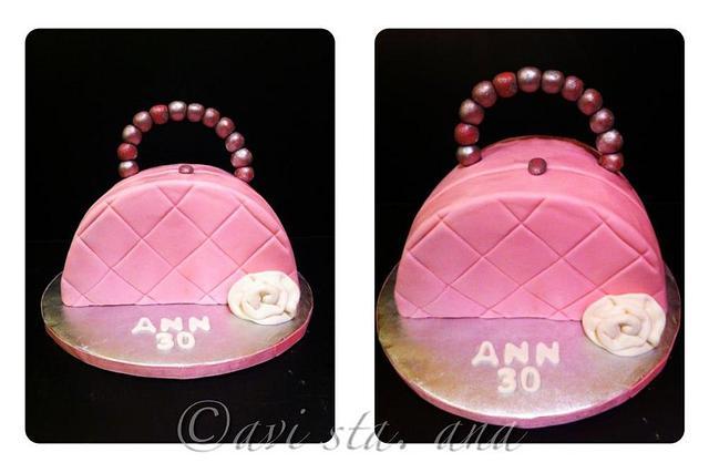 Small bag cake