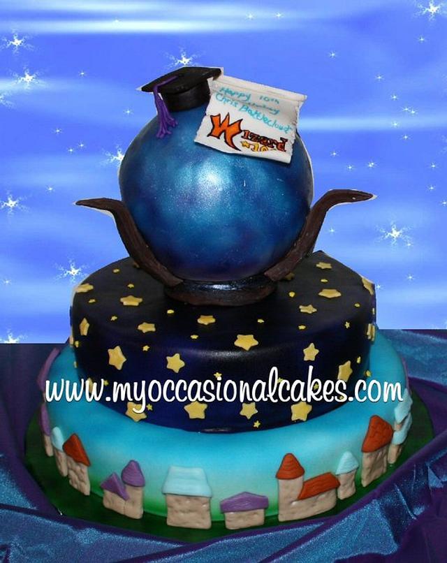 Wizard101 (TM) cake