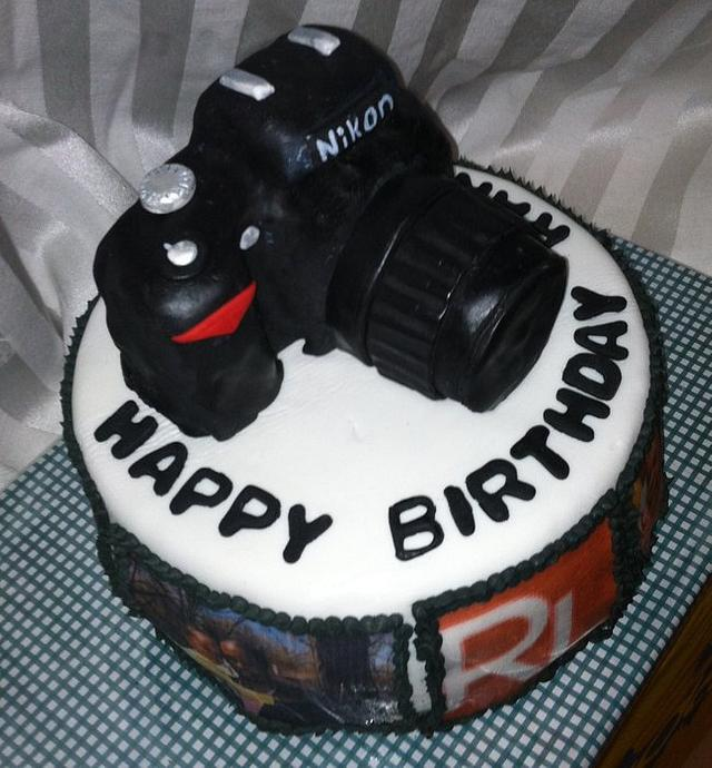 Photographer's Cake