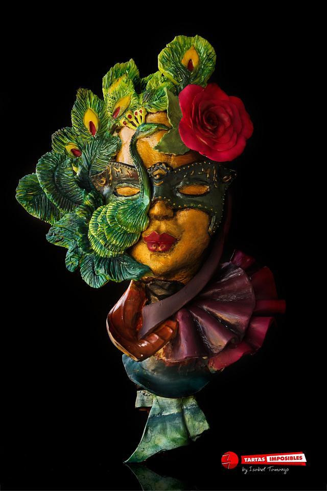 Peacock Mask (Sweet World Carnival)