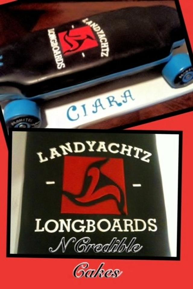 Ciara's Longboard