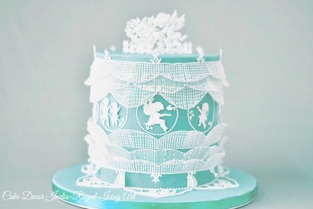 Extension work with Royal Icing
