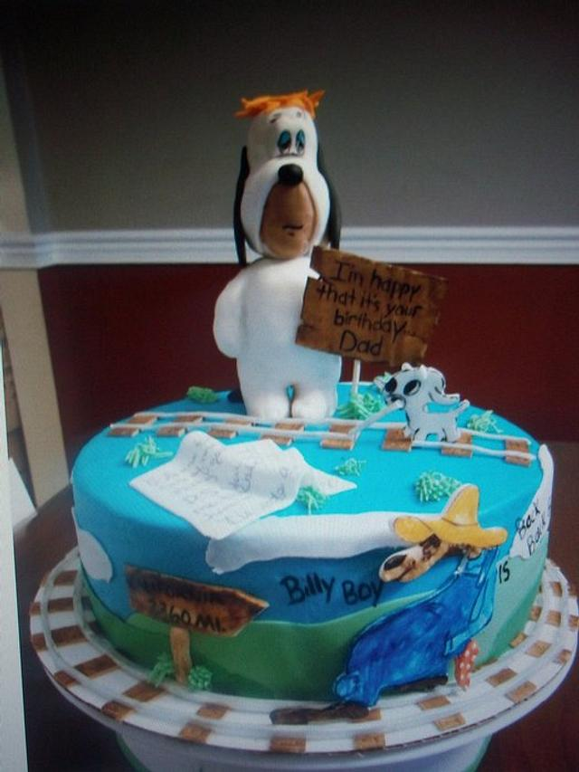 Droopy Birthday cake