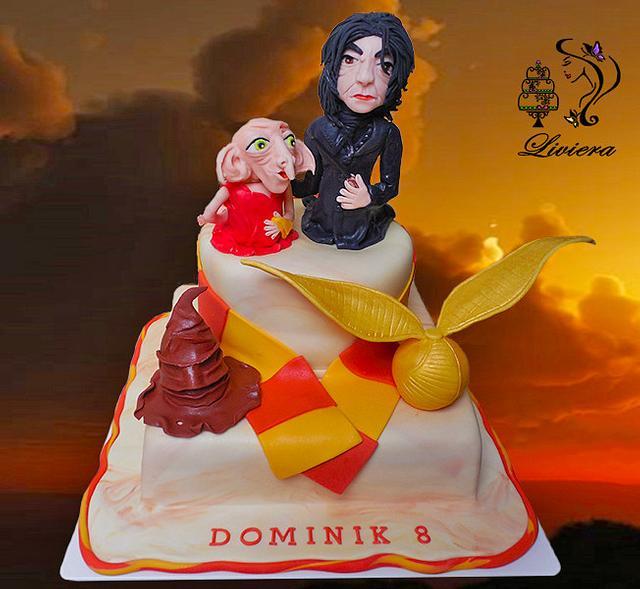 birthday cake - Harry Potter